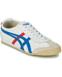 Onitsuka Tiger - Mexico 66 Men's Shoes (trainers) In White - Lyst