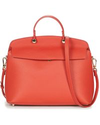 64a019f1ed Furla Mimì Mini Orange Leather Shoulder Bag Women s Shoulder Bag In ...