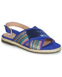 9b8e6644c6b Geox D Kolleen Women's Sandals In Multicolour in Blue - Lyst