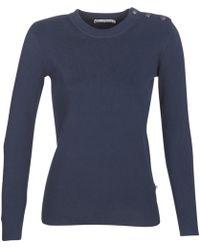Petit Bateau - Tzara Women's Sweater In Blue - Lyst