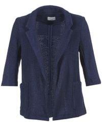 Casual Attitude | Maiuno Women's Cardigans In Blue | Lyst