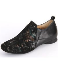 Think! - Sz Espresso Effect Soft Calf Women's Loafers / Casual Shoes In Multicolour - Lyst