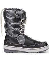 Le Coq Sportif - Minka Snow Boot Women's Snow Boots In Black - Lyst