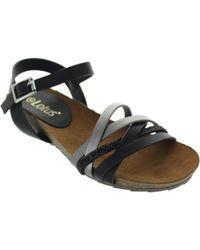 Lotus - Pika Women's Sandals In Black - Lyst