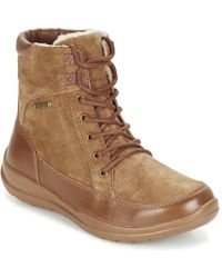 Kamik - Shawna Women's Mid Boots In Brown - Lyst
