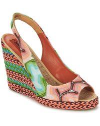 Missoni - Xm031 Women's Sandals In Pink - Lyst