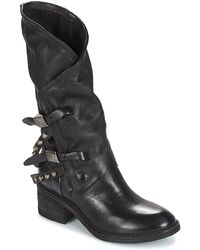 A.S.98 - Yoko Women's High Boots In Black - Lyst