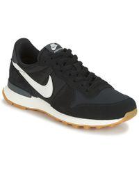 Nike - Internationalist W Women's Shoes (trainers) In Black - Lyst