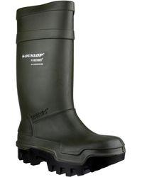Dunlop - C662933 Purofort Men's Wellington Boots In Green - Lyst