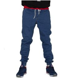 Elade - Jogger Blu Women's Jeans In Multicolour - Lyst