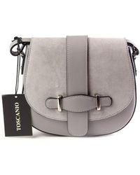 Toscanio - A184 Women's Handbags In Grey - Lyst