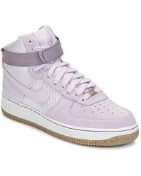 san francisco 9855f 14a38 Nike - Air Force 1 Hi Premium W Women s Shoes (trainers) In Pink -