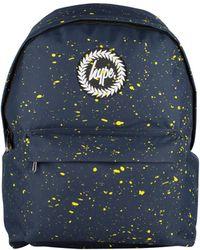 Hype - Men's Speckle Backpack, Blue Men's Backpack In Blue - Lyst