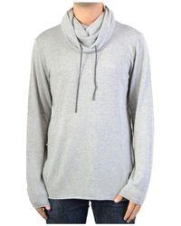 Le Temps Des Cerises - Sweatshirthirter Kyle Grey Melange Men's Jumper In Grey - Lyst