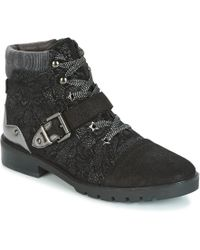 Mam'Zelle - Yiala Women's Mid Boots In Black - Lyst