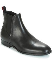 HUGO - Boheme Leather Chelsea Boots - Lyst