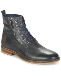 Casual Attitude - Hokos Men's Mid Boots In Black - Lyst