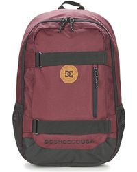 DC Shoes - Clocked Women's Backpack In Red - Lyst