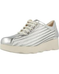 Pitillos - 5113v18 Women's Shoes (trainers) In Silver - Lyst