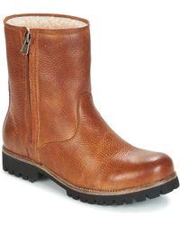 Blackstone - Ol24 Women's Mid Boots In Brown - Lyst