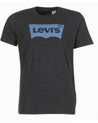 Levi's - Levis Graphic Housemark Men's T Shirt In Grey - Lyst