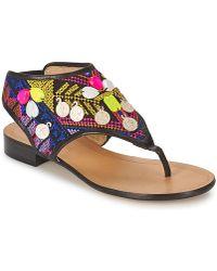 Alberto Gozzi - Italia Women's Flip Flops / Sandals (shoes) In Multicolour - Lyst