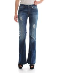 Dondup - NEON DP126 DS107D R03T JEANS Femme DENIM MEDIUM BLUE femmes Jeans en bleu - Lyst