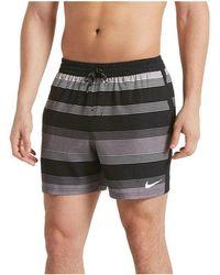 27815500f272d Nike - Ba?ador Swim Solid Secado Extrar?pido Ness9466 001 Men's In Black