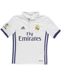 Adidas 2016-17 Real Madrid Home Shirt (isco 22) - Kids Men s T Shirt ... 8c5d15beb