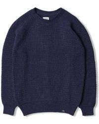 Warm In Up Edwin Men's Popover Sweater Sweatshirt Gray Grey AwCq1C