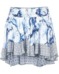 Desigual - Zifukre Women's Skirt In Blue - Lyst