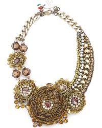 Sveva Collection - Collana Isotta Women's Necklace In White - Lyst