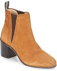 Marc O'polo - Carolina Women's Low Ankle Boots In Brown - Lyst