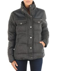 Billabong - Troy Wool Women's Jacket In Grey - Lyst