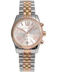 MICHAEL Michael Kors - - Mk5735 - Silver Women's Analogue Watches In Silver - Lyst