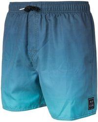 "Rip Curl - Volley Tye N Dye 16"""" Boardshort Cbogg4 Men's In Blue - Lyst"