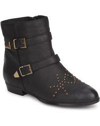 KMB - - Women's Mid Boots In Black - Lyst