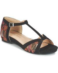 Moony Mood - Gavide Women's Sandals In Black - Lyst