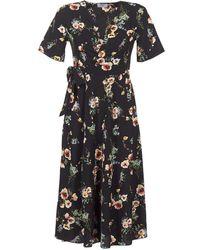 Betty London - Innatin Women's Long Dress In Black - Lyst