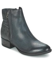 Dream in Green - Laistina Women's Mid Boots In Grey - Lyst