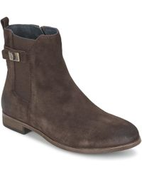 Tommy Hilfiger - Billie 10b Women's Low Ankle Boots In Brown - Lyst