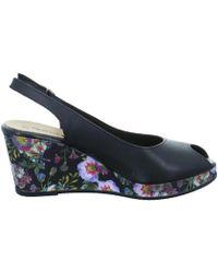 Tamaris - 112931320028 Women's Sandals In Black - Lyst