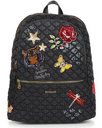 1d3d1bb1f5 Desigual - Bols Always Milan Women s Backpack In Black - Lyst
