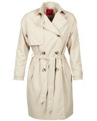 S.oliver - Revisu Women's Trench Coat In Beige - Lyst