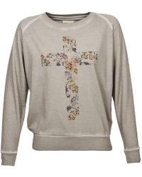 ELEVEN PARIS - Sundrape Jp Women's Sweatshirt In Grey - Lyst