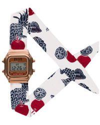 Rich Gone Broke - Digital Panama Watch 51635 White Women's Watch In White - Lyst