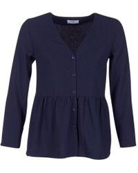 Betty London - Ihalice Women's Blouse In Blue - Lyst