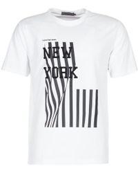 Calvin Klein Jeans - Tanav Slim Men's T Shirt In White - Lyst