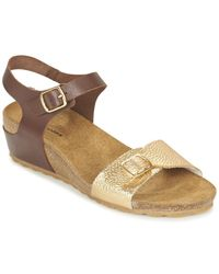 9c753e86d3d Hush Puppies - Tease Soothe Women s Sandals In Brown - Lyst