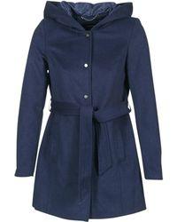 Vero Moda - Elena Women's Coat In Blue - Lyst